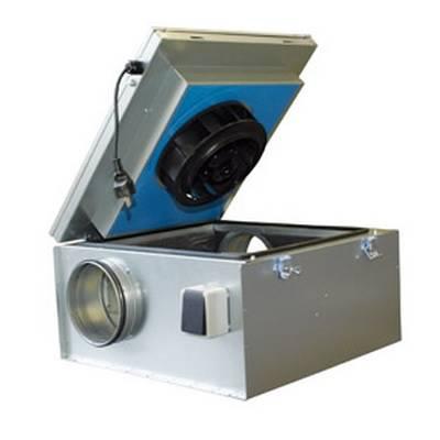 Вентилятор KVKE. шумоизолированный вентилятор