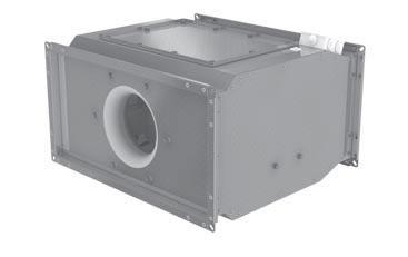 шумоизолированный канальный вентилятор