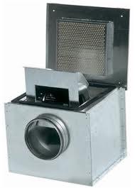 Вентиляторы в звукоизолированном корпусе
